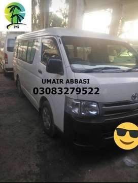 TOYOTA HIACE DX 2012 AUTOMATIC NEW AND USED CARS FINANCING