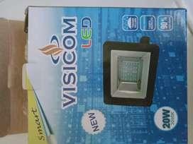 Jual lampu sorot Visicom LED 20 watt warna putih