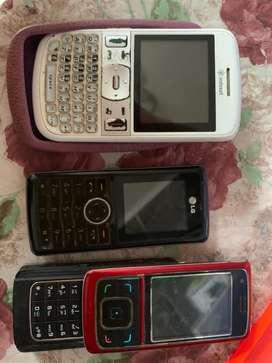 3 Hp bekas tanpa baterai