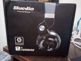 Bluedio T2+ bluetooth headphone 1625 hour standby  46 hour talk