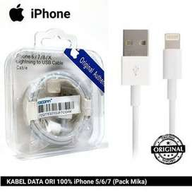 Kabel Original Iphone 100% Kualitas 6s 7s 8 Plus X - Minat HUB WA