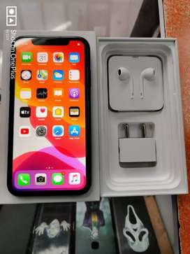 10 days Used iPhone 11 with full box kit and warranty.