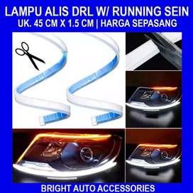 Lampu Led Strip Alis 45cm, Sein Runing