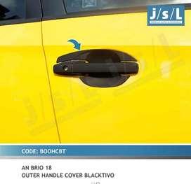 Cover handle all new brio hitam