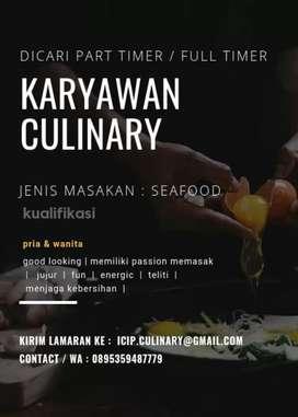 Karyawan Kuliner ICIP-ICIP Seafood