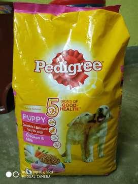 Pedigree puppy food offer price- 500/ MRP-650