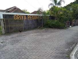Tanah kavling dekat sekolah SD Sribitan Bantul