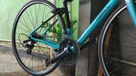 Roadbike Thrill Enthral 4.0 Size (XS) Mulus Siap Pakai