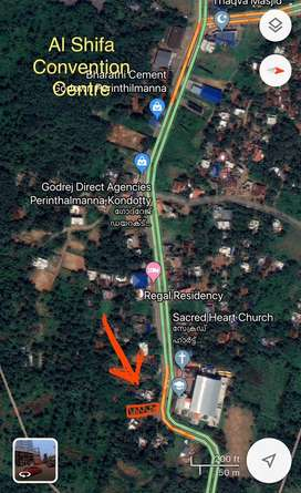 10.50 cent Commercial Plot for sale in Ponniakurussi, Perinthalmanna