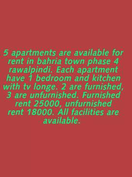 Apartments available for rent