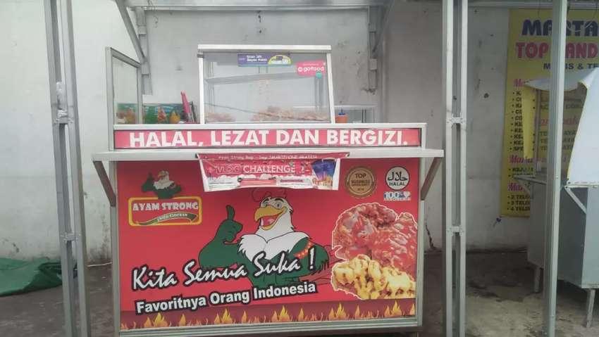 Take over usaha fried chicken berjalan 0