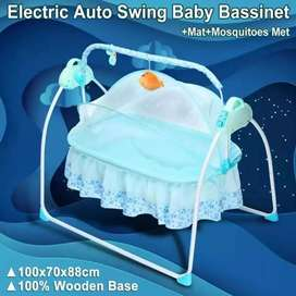 Auto-Swing Sleep Bed Baby Remote control.