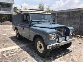 Land Rover Seri 3 Cargo Diesel