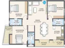 Flat for sale in Rsun Project