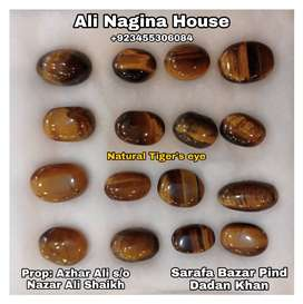 Natural Tiger's eye stones Rs1000 per piece