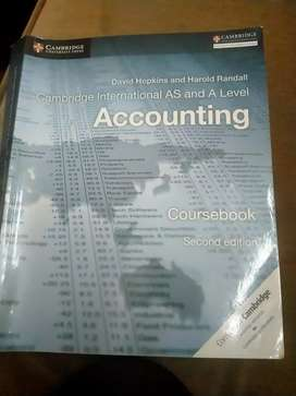 Cambridge As level and A level Accounting