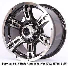 velg racing HSR R16X8 H6X139,7 ET15 projectwheel