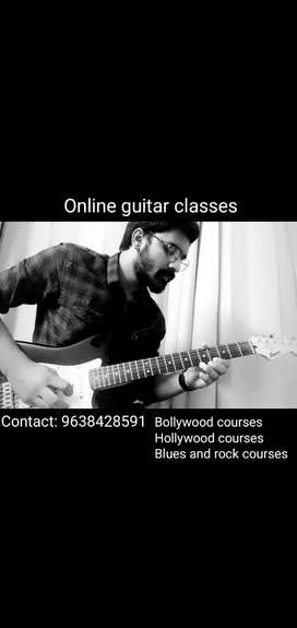 Online guitar tutions