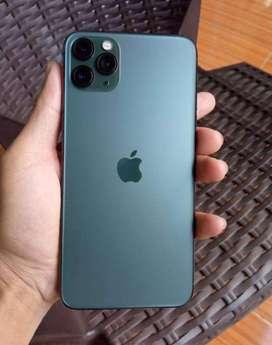 iPhone 11 Pro Max 256GB, midnight green, ex inter