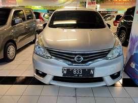Nissan grandlivina 2015 XV manual silver surabaya low km 60rban dp min