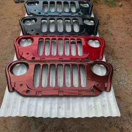 Thar 2020 front grill abs quality 7 slot & 5 slot