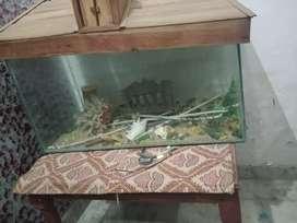 Aquarium on sale in good condition