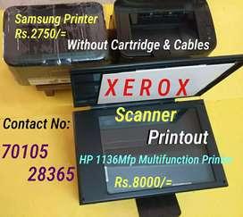 HP 1136Mfp Multifunction / Samsung 1666/1676 Printers Sale