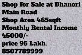 Road touch shop 45000 rental Income monthly
