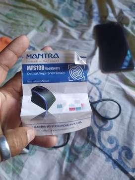 Mantra MFS100 fingerprint device