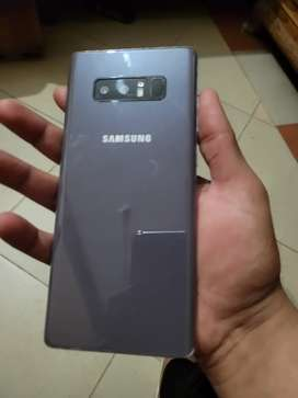 Samsung Note 8 purple 8/10 condition (dotted).