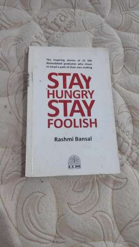 (Used) Stay Hungry Stay Foolish