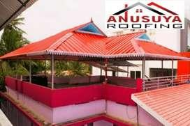 AnusuyA roofinG fabrication in truss work