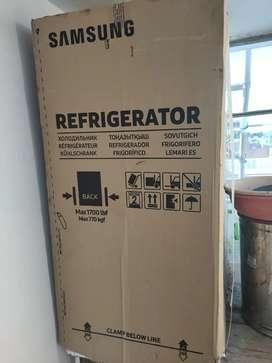 New fully pack fridge