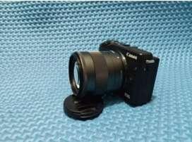 Kamera Mirrorless CANON EOS M3 FREE MEMORY DAN TAS ( kamera vlog )