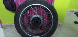 Thunderbird 350 back tyre