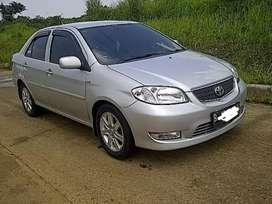 Toyota Vios G AT 2003 Istimewa, irit bbm, nopol B