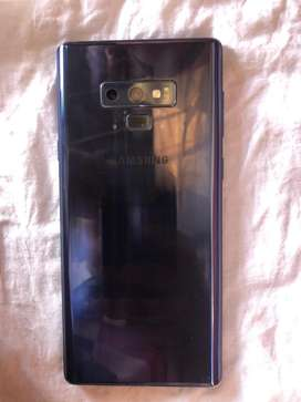 Samsung Galaxy note 9 good condition full kit