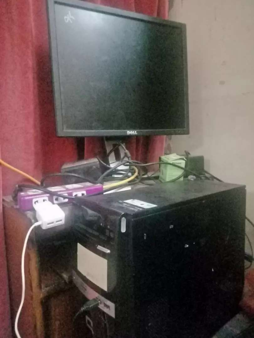 Dual core with lcd 23 inch mouse and keyboard 0
