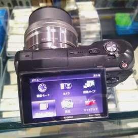 Kamera Sony Nex 3 Black + kit 16-50mm Mulus