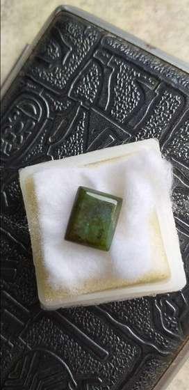 Batu natural hijau lumut