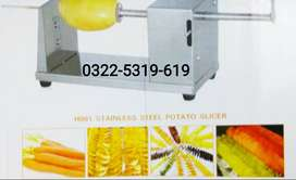 Spiral Potato Silicer Stainless Steel Adjustable