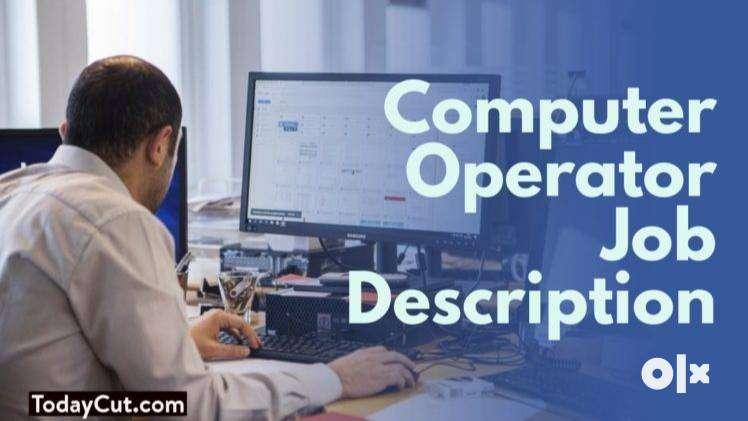 Computer Operator cum CCE jobs in Ghaziabad 0