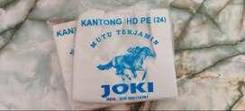 Jual kantong plastik merk JOKI, Mobil berbagai jenis ukuran Pontianak
