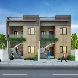 Ready to move in 2 BHK independent Second Floor  665 Sq ft