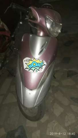 Tvs scooty pink colour