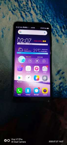 Vivo v7 in good condition only 1years old