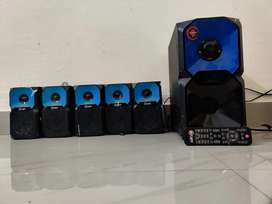 5.1 home theater... Mr.Light 15000watts PMPO