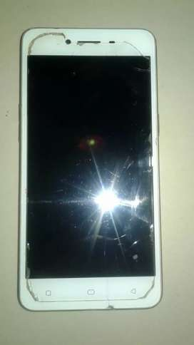It is in good condition. Mobile with cover