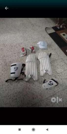 Cricket kit.