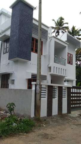 5 cent plot with 1350 sq.ft 3BHK house for sale in kollam thazhuthala